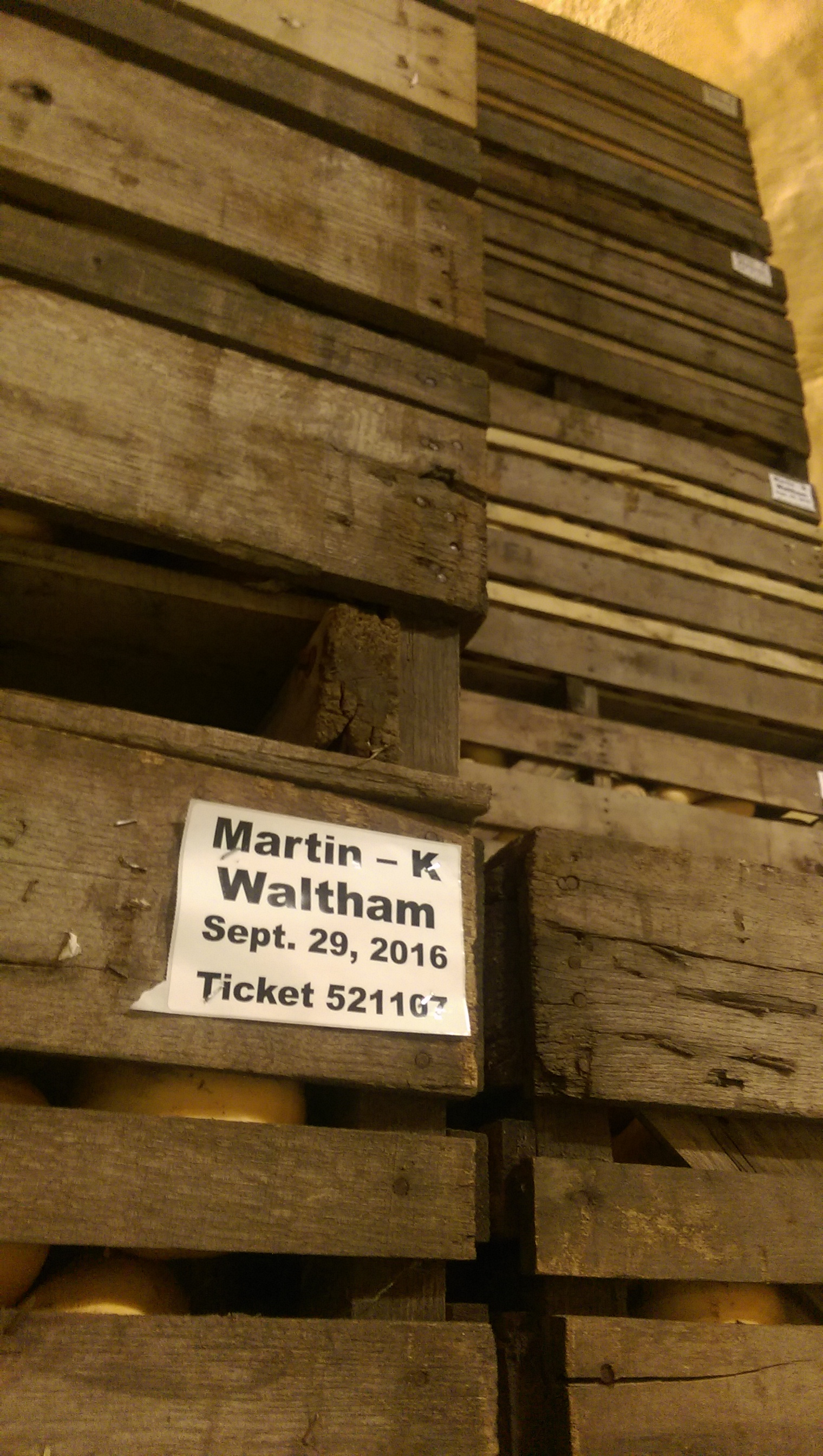 Martin Farms squash crates