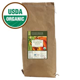 Bulk organic pumpkin seeds, 25 lb